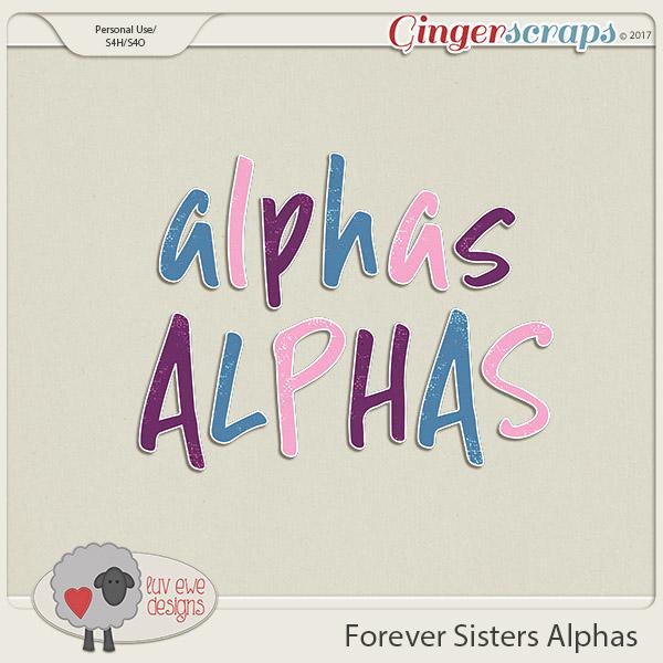 Forever Sisters Alpha Pack by Luv Ewe Designs