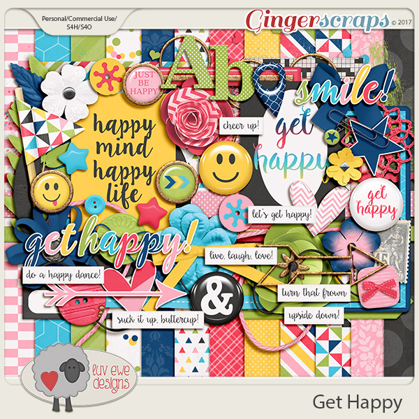 Get Happy Kit by Luv Ewe Designs