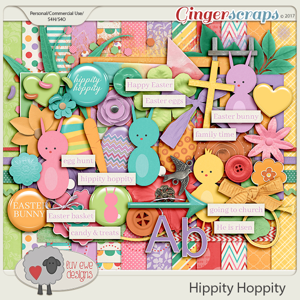 Hippity Hoppity by Luv Ewe Designs