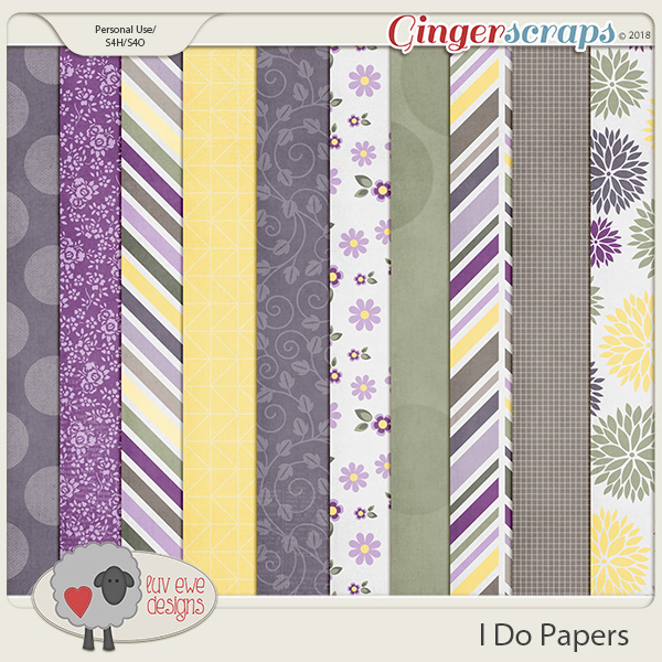 I Do Papers by Luv Ewe Designs