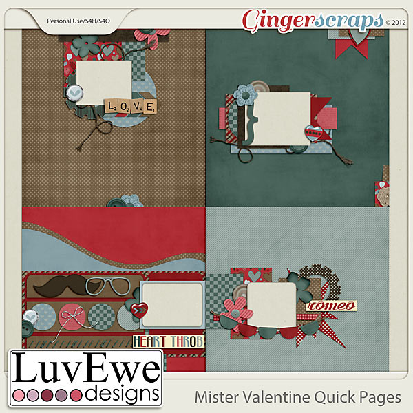 Mister Valentine Quick Pages