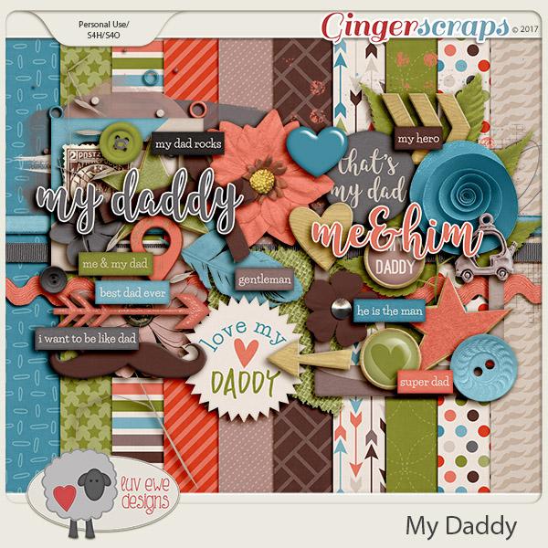 My Daddy Kit by Luv Ewe Designs