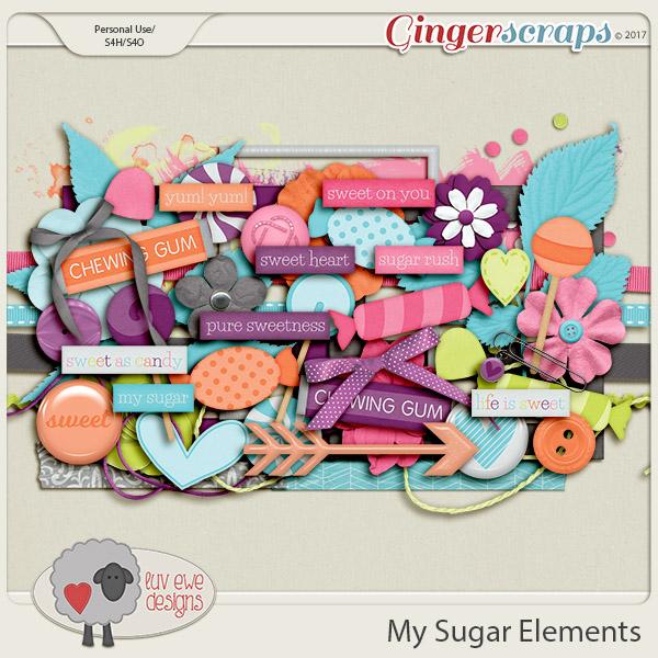 My Sugar Elements by Luv Ewe Designs