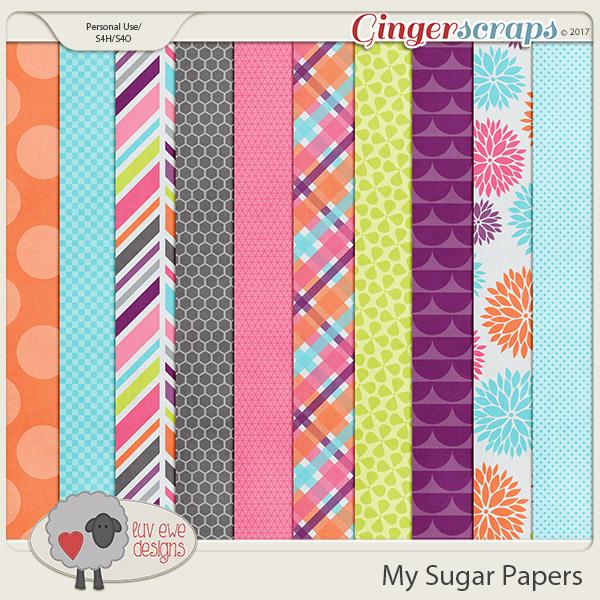 My Sugar Papers by Luv Ewe Designs