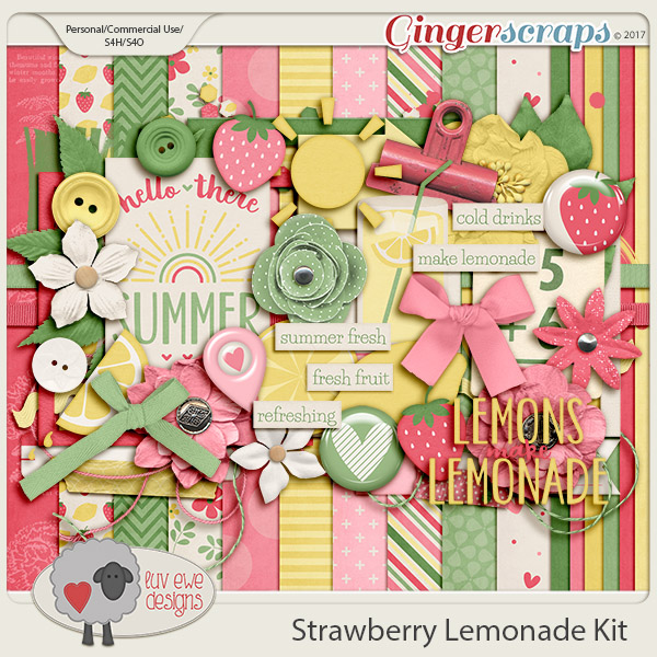 Strawberry Lemonade Kit by Luv Ewe Designs