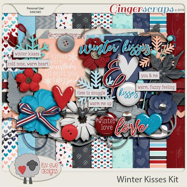 Winter Kisses Kit by Luv Ewe Designs