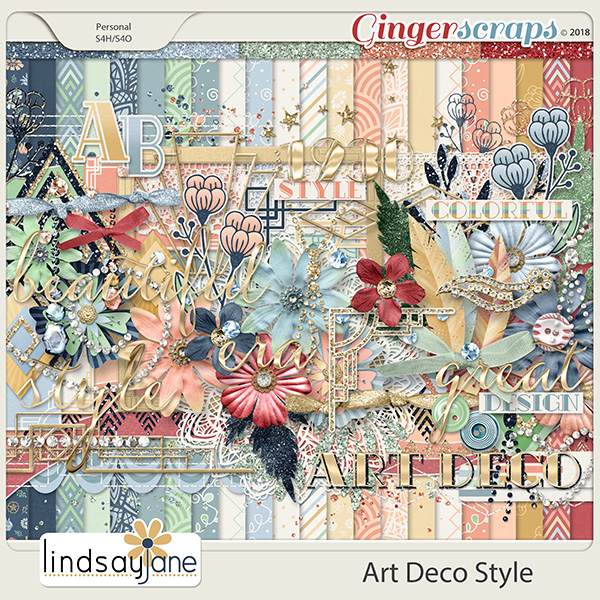 Art Deco Style by Lindsay Jane