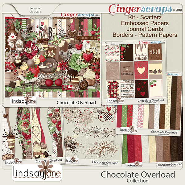 Chocolate Overload Collection by Lindsay Jane