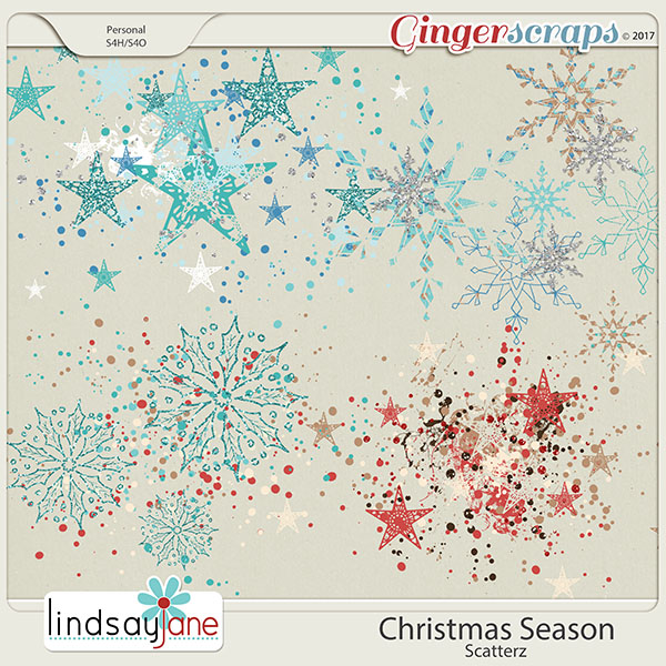 Christmas Season Scatterz by Lindsay Jane