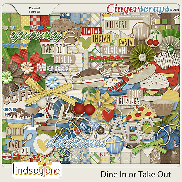 Dine In or Take Out by Lindsay Jane