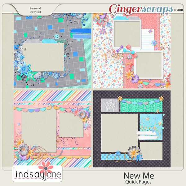 New Me Quick Pages by Lindsay Jane
