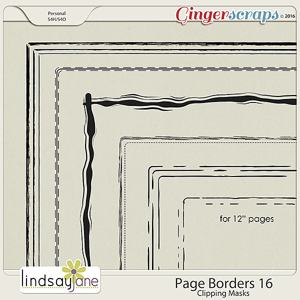 Page Borders 16 by Lindsay Jane