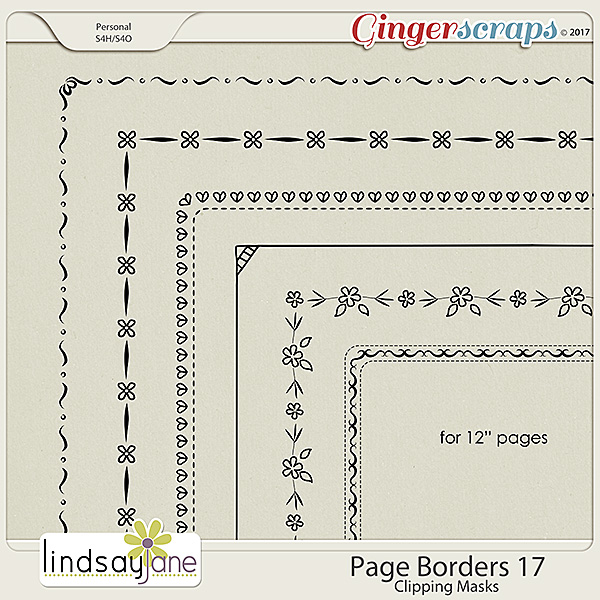 Page Borders 17 by Lindsay Jane