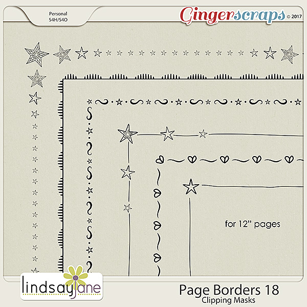 Page Borders 18 by Lindsay Jane