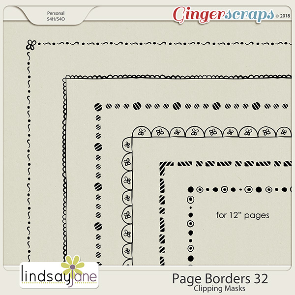 Page Borders 32 by Lindsay Jane