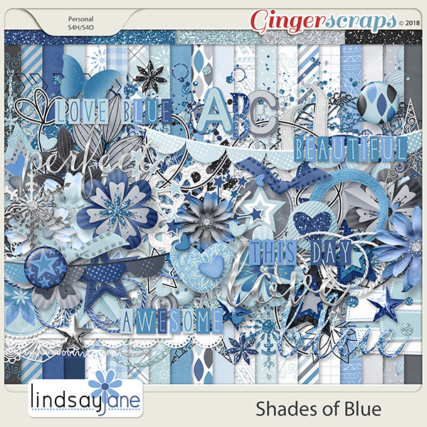 Shades of Blue by Lindsay Jane