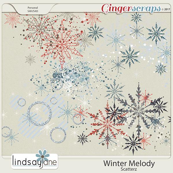 Winter Melody Scatterz by Lindsay Jane