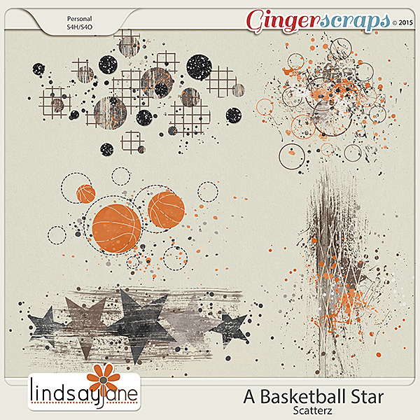 A Basketball Star Scatterz by Lindsay Jane