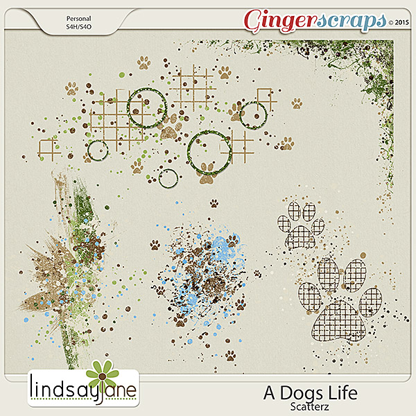 A Dogs Life Scatterz by Lindsay Jane