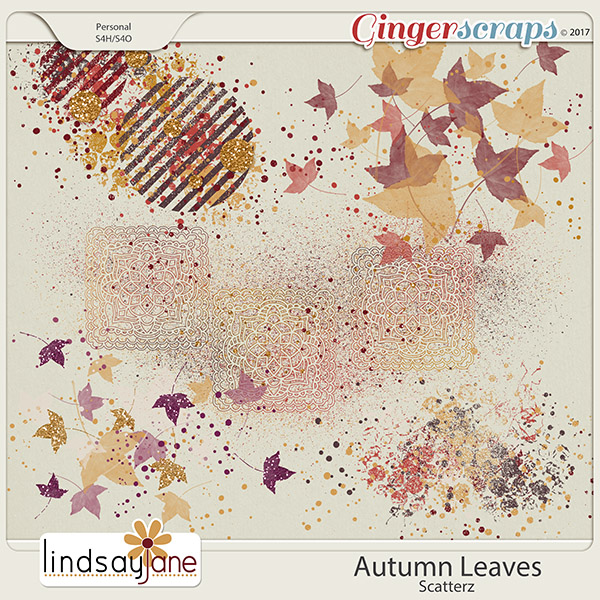 Autumn Leaves Scatterz by Lindsay Jane