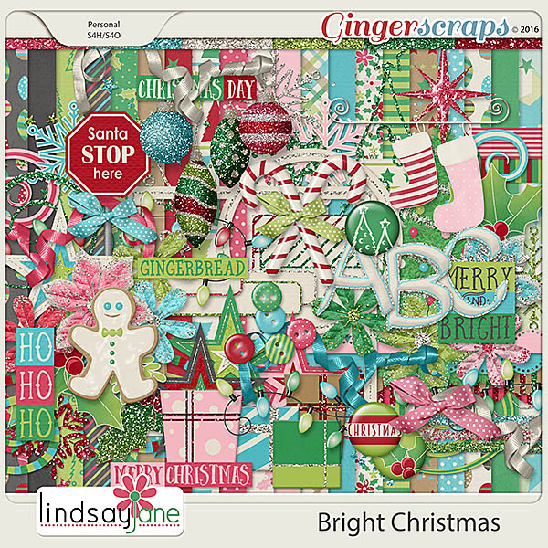 Bright Christmas by Lindsay Jane