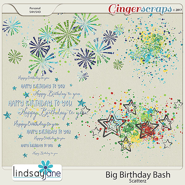 Big Birthday Bash Scatterz by Lindsay Jane