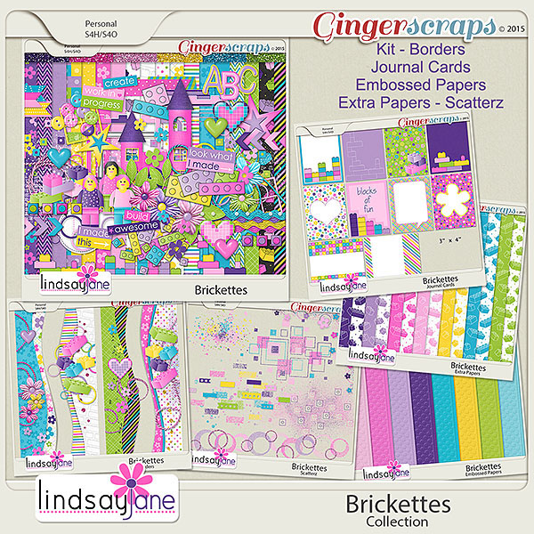 Brickettes Collection by Lindsay Jane