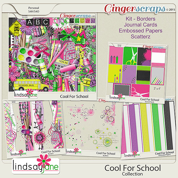Cool For School Collection by Lindsay Jane