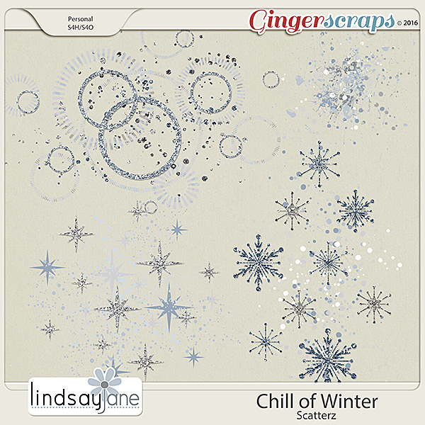 Chill of Winter Scatterz by Lindsay Jane