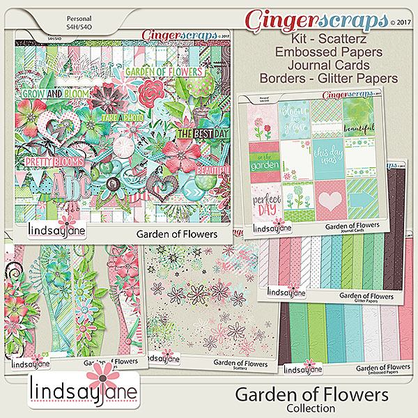 Garden of Flowers Collection by Lindsay Jane