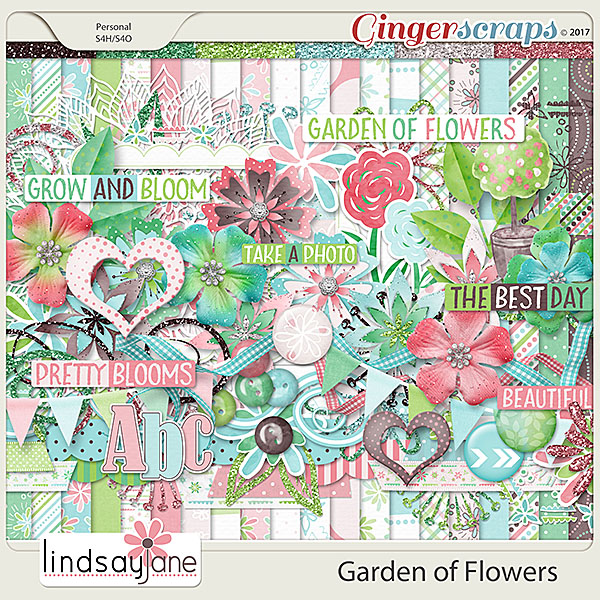 Garden of Flowers by Lindsay Jane
