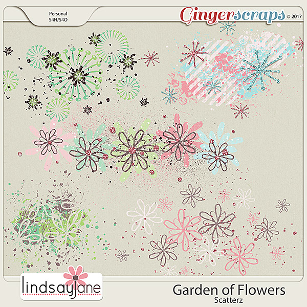 Garden of Flowers Scatterz by Lindsay Jane
