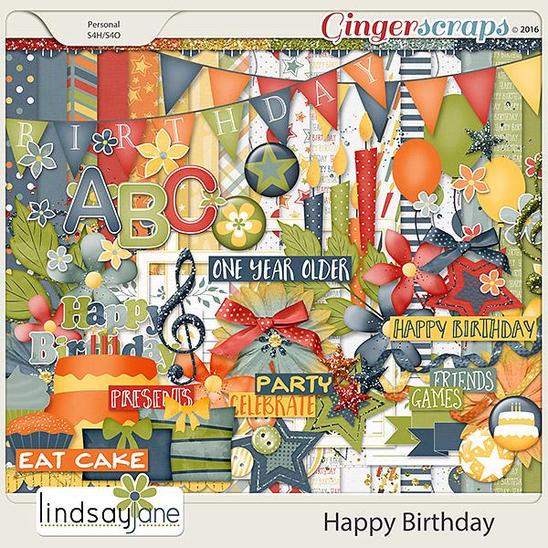 Happy Birthday by Lindsay Jane