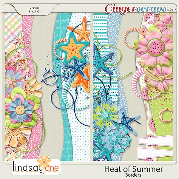 Heat of Summer Borders by Lindsay Jane