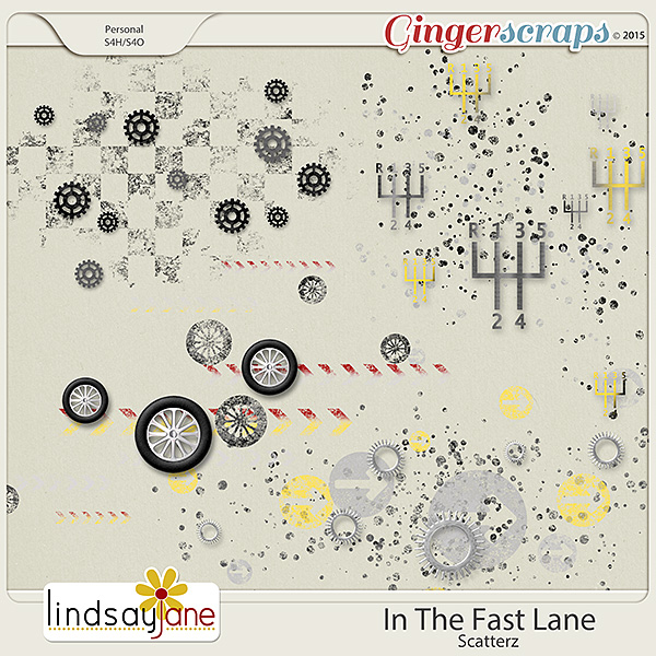 In The Fast Lane Scatterz by Lindsay Jane