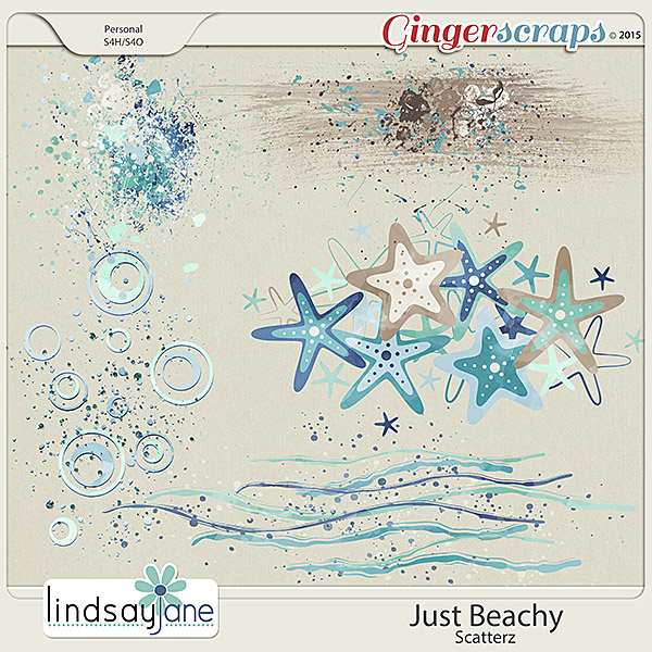 Just Beachy Scatterz by Lindsay Jane