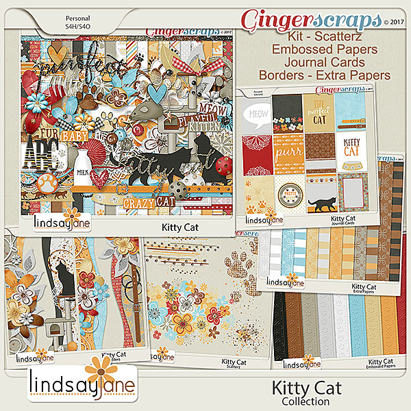 Kitty Cat Collection by Lindsay Jane