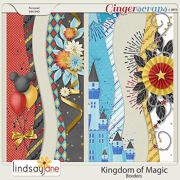 Kingdom of Magic Borders by Lindsay Jane