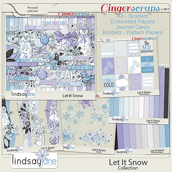 Let It Snow Collection by Lindsay Jane