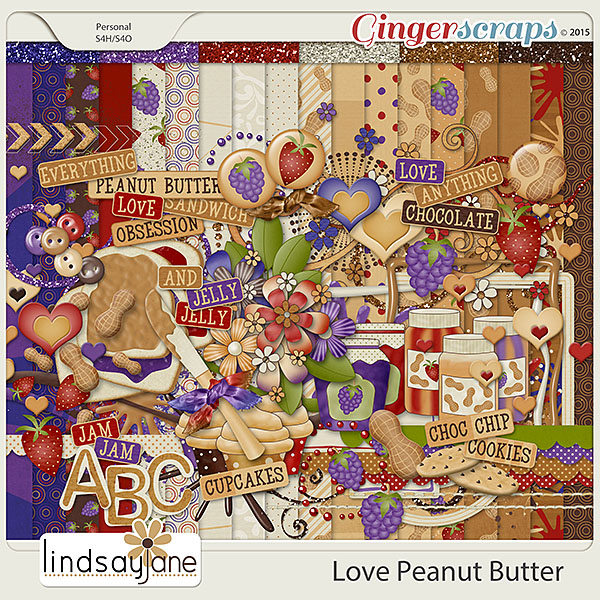 Love Peanut Butter by Lindsay Jane