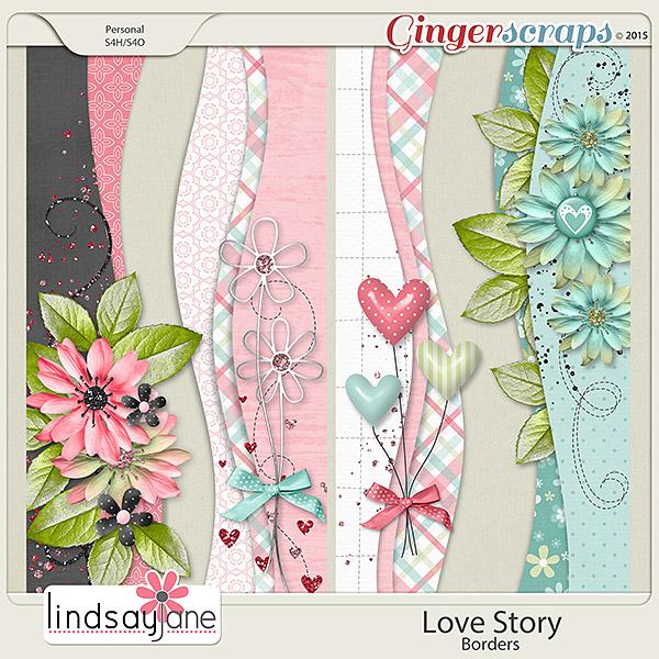 Love Story Borders by Lindsay Jane