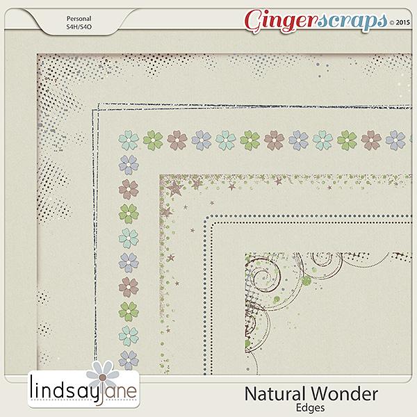 Natural Wonder Edges by Lindsay Jane
