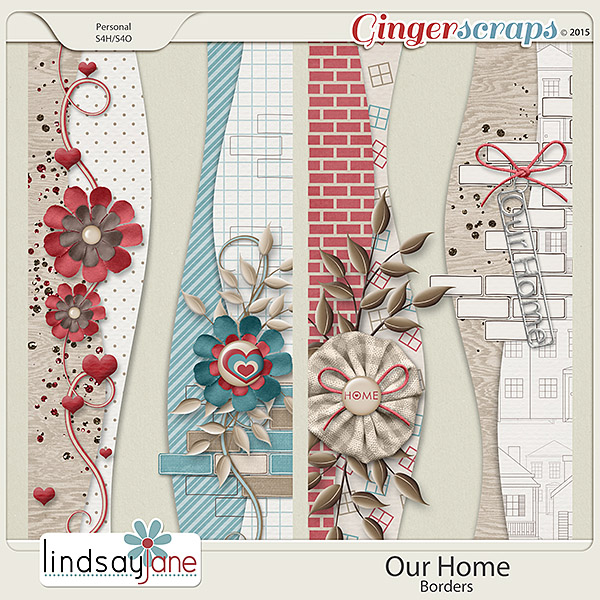 Our Home Borders by Lindsay Jane