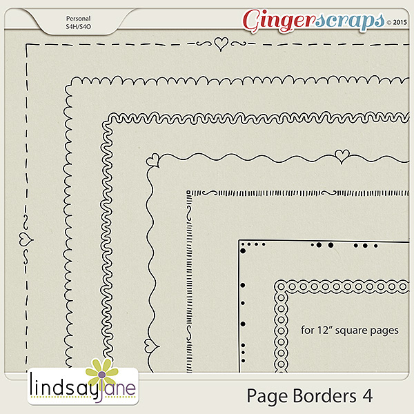 Page Borders 4 by Lindsay Jane