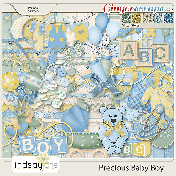 Precious Baby Boy by Lindsay Jane
