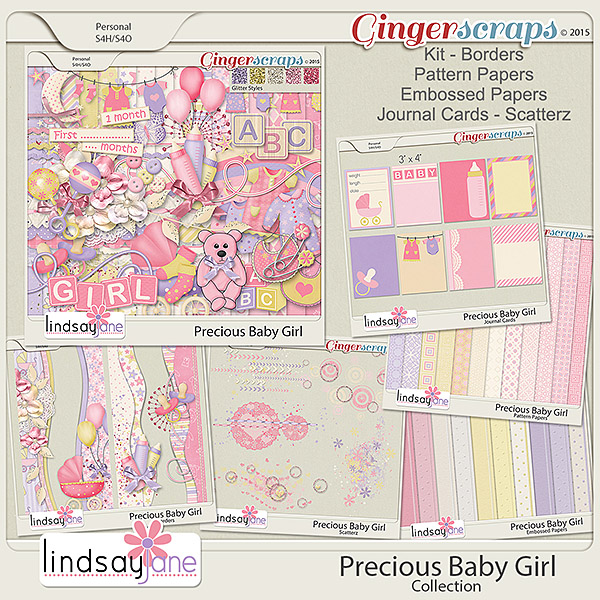 Precious Baby Girl Collection by Lindsay Jane