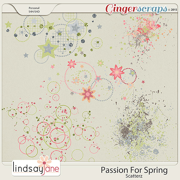 Passion For Spring Scatterz by Lindsay Jane