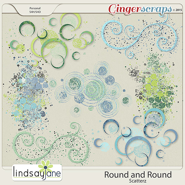 Round and Round Scatterz by Lindsay Jane