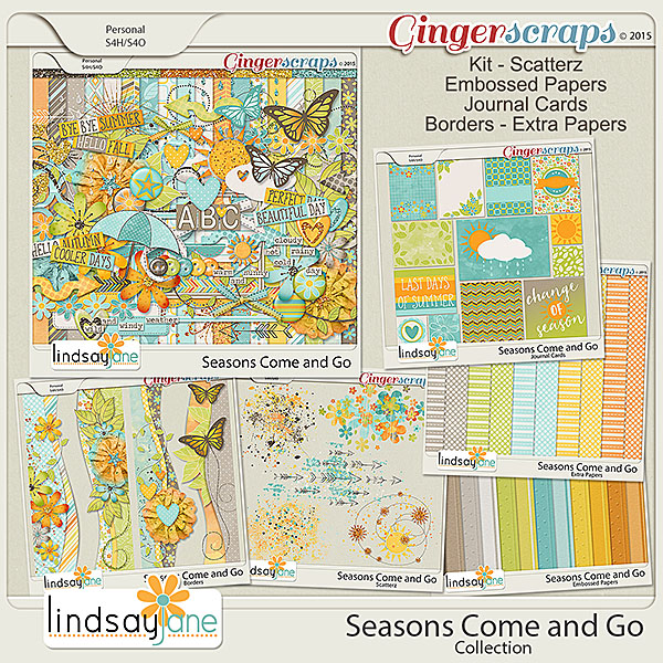 Seasons Come and Go Collection by Lindsay Jane