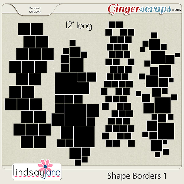 Shape Borders 1 by Lindsay Jane